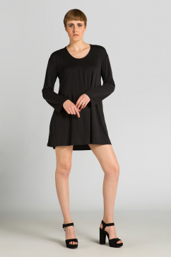 somedays-lovin-salty-cupro-jersey-dress-black