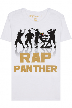 happiness-rap-panthere-tee-white
