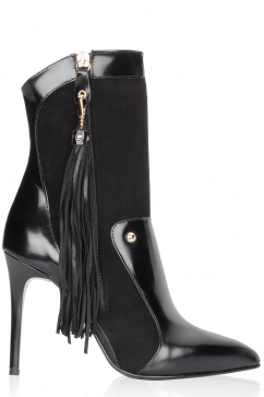 just-cavalli-tassel-detail-high-heel-boots-black