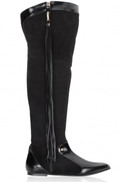 just-cavalli-tassel-detail-over-the-knee-boots-black
