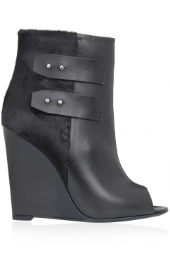 kalliste-leather-wedge-booties-black