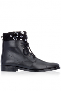markus-lupfer-black-leather-knit-gems-boots-black