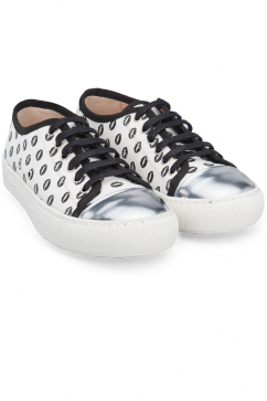 markus-lupfer-white-canvas-silver-lips-sneaker-white