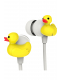 kikkerland-duck-earbuds-yellow