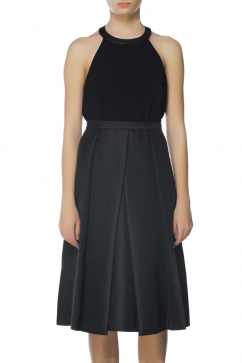 tibi-black-woven-skirt-black