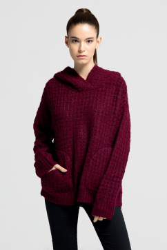 elizabeth-and-james-thermal-hoodie-sweater-burgundy
