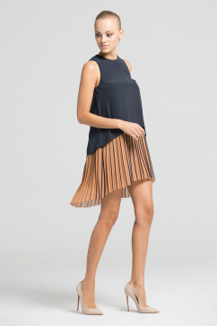 muller-of-yoshiokubo-two-layer-pleats-dress-black